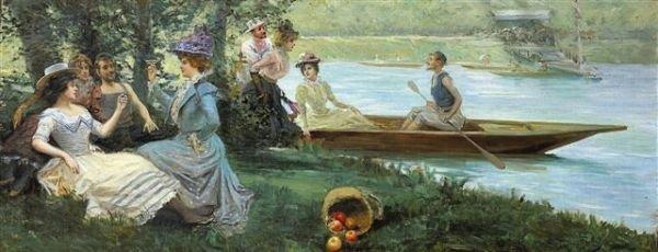 14: Mariano ALONZO-PEREZ (1857-1930),Spanish  The Ride