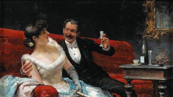15: José LLANECES (1863-1919),Spanish The Champagne Flu