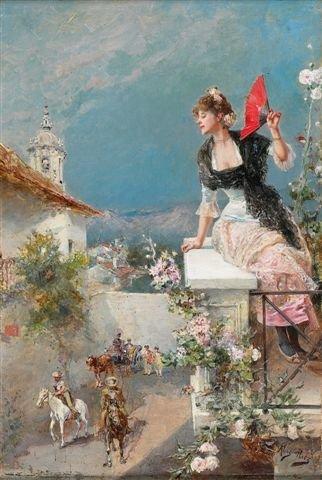 18: Mariano ALONSO-PEREZ (1857-1930), Spanish  Elegant