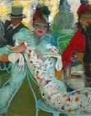 21: Jean-Gabriel DOMERGUE (1889-1962)  Elegant Woman at