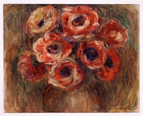 166: Pierre-Auguste RENOIR (1841-1919)* Bouquet of Rose