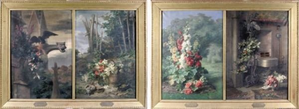 12: Etienne CORPET (1831-1903)  The Four Seasons  Four
