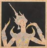 119: Romain de TIRTOFF dit Erté (1892-1990) Russian Tha