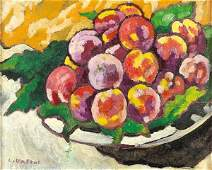 169: Louis VALTAT (1869-1952)    Still Life with Peache