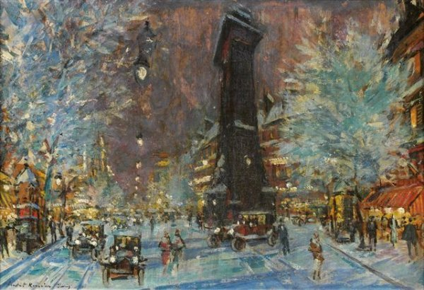 5: Constantin-Alexeievitch KOROVINE (1861-1939)Russian