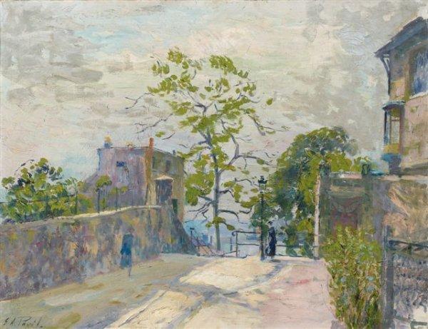 9: Élie-Anatole PAVIL (1873-1948),Russian Vue de Montma