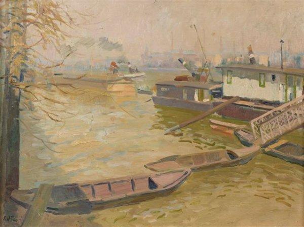 10: Élie-Anatole PAVIL (1873-1948), Russian Les inondat