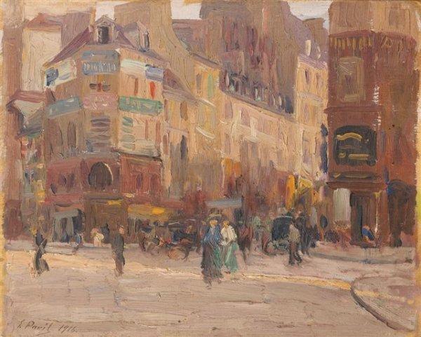 11: Élie-Anatole PAVIL (1873-1948)Russian Un après-midi