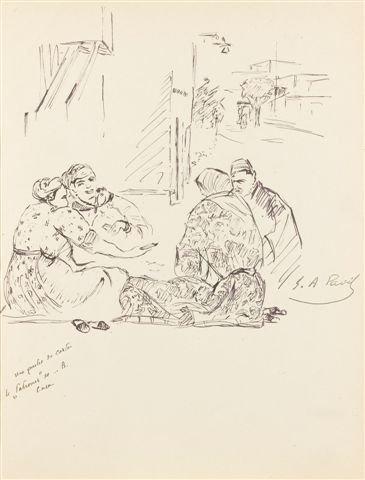 15: Élie-Anatole PAVIL (1873-1948), Russian La partie d