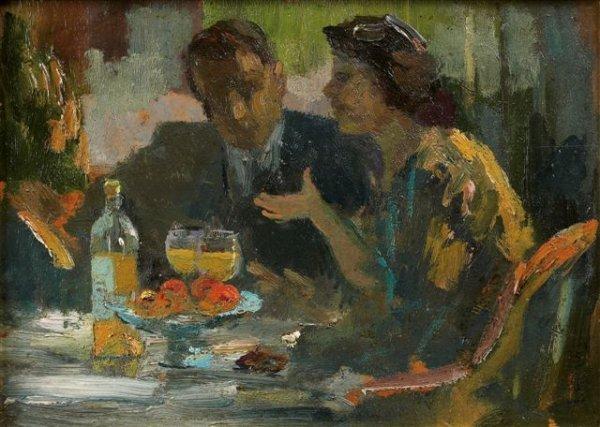 16: Élie-Anatole PAVIL (1873-1948), Russian Scène de ca