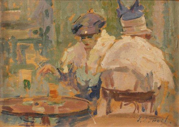 17: Élie-Anatole PAVIL (1873-1948), Russian Les deux sœ