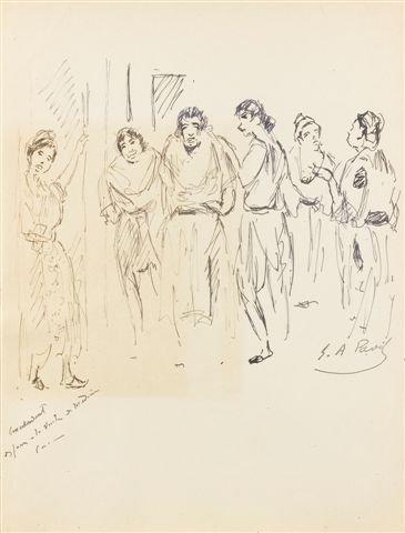 19: élie-Anatole PAVIL (1873-1948) Femmes orientales En