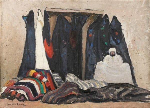 309: Paul-Émile DUBOIS (1886-1949) Le marchand de tapis