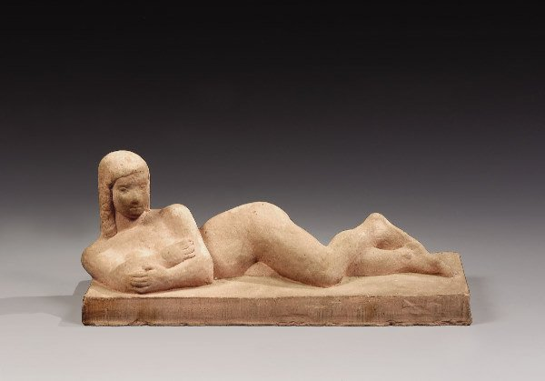 "1016: CSAKY Joseph (1888-1971){CR} ""Reclining Female Nu"