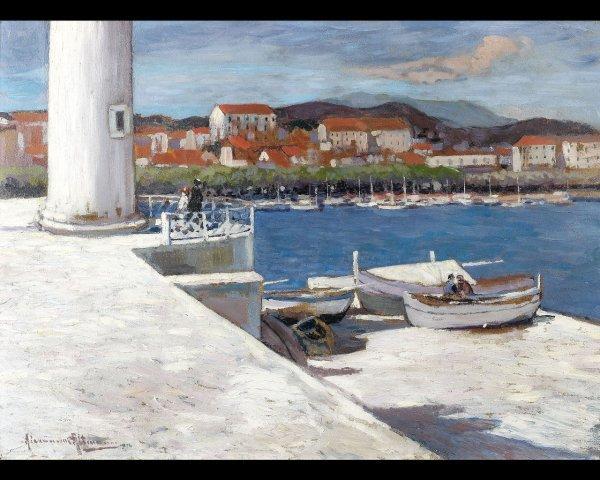 3: Alexandre ALTMANN (1885-1950), Vue de Cannes