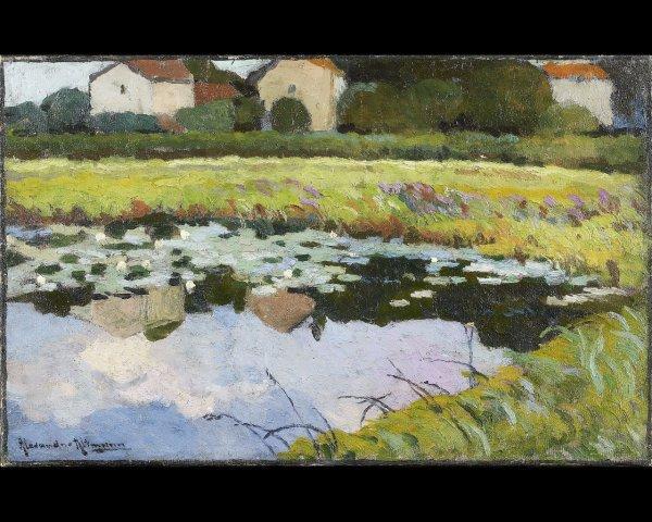 4: Alexandre ALTMANN (1885-1950), Les nénuphars