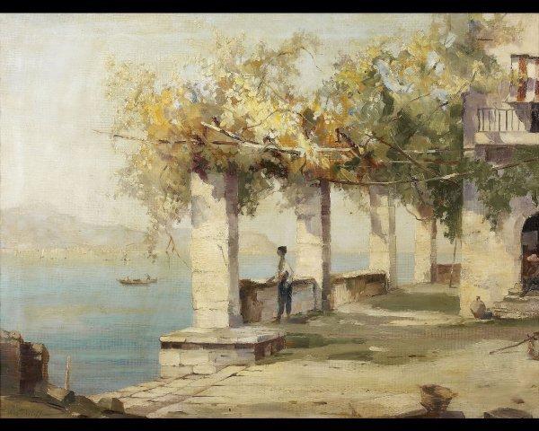 6: Konstantin WESTCHILOFF (1877-1915) Rêverie en Baie d