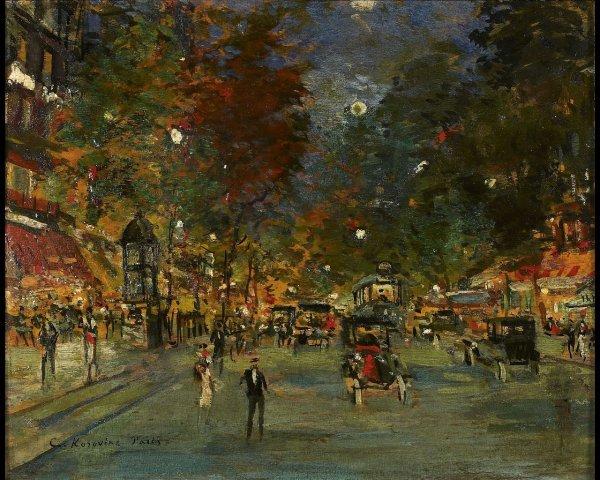 7: Constant-Alexis KOROVINE (1861-1939), Les grands bou