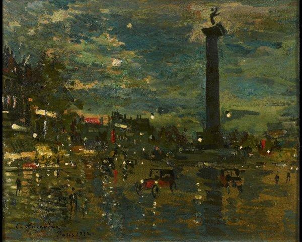 7B: Constant-Alexis KOROVINE (1861-1939), La place de L