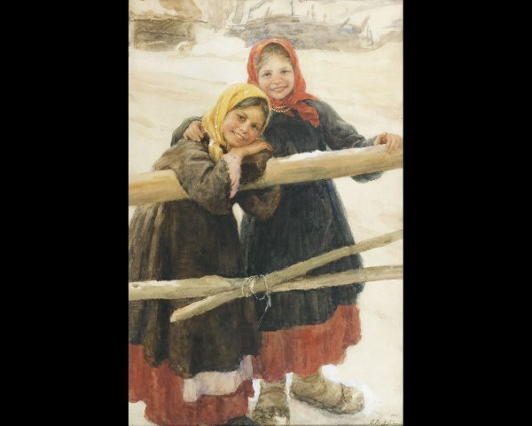 9: Feodor Vasilievich SYCHKOV (1870-1958), Petites fill