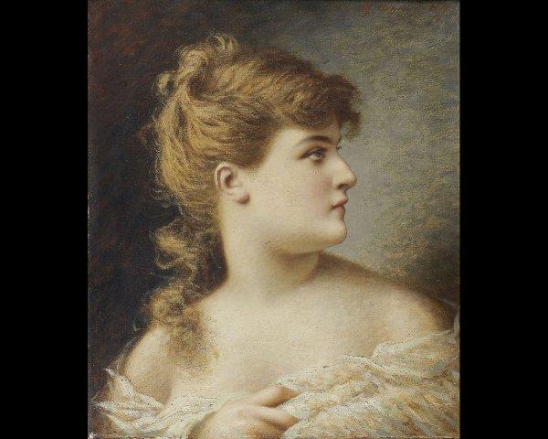 12: Feodor Petrovich TCHOUMAKOV (1823-1911) Femme de pr