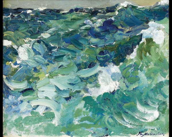 16: Philippe MALIAVINE (1869-1939) La mer