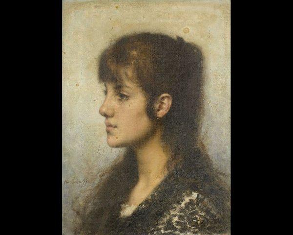 46: Alexeï Alexeiewitch HARLAMOFF (1842-1915) Portrait