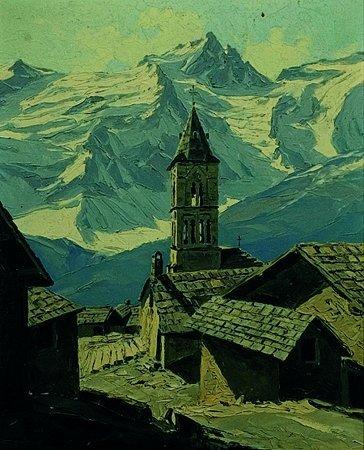2: Charles Henry  CONTENCIN (XX°siècle) Villages des Te