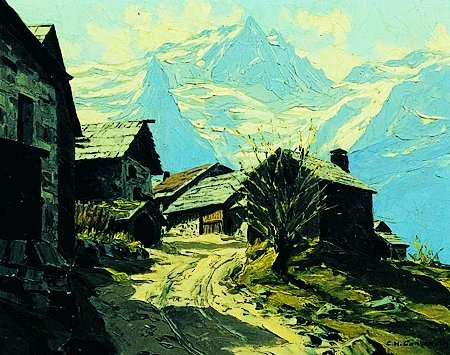 4: Charles Henry  CONTENCIN (XX°siècle) Le chazelet et