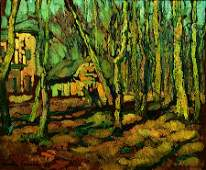 220 Jacques MARTINFERRIRES 18931972 Paysage Huile
