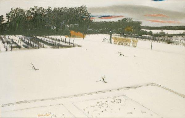3: Maurice BRIANCHON (1899-1979) * Sous la neige au cou