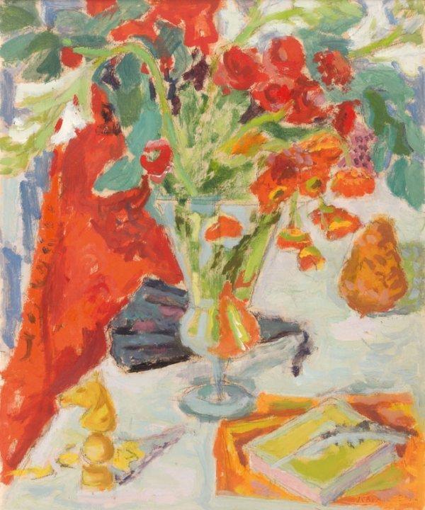 12: Jean Jules Louis CAVAILLES (1901-1977) * Vase, éven