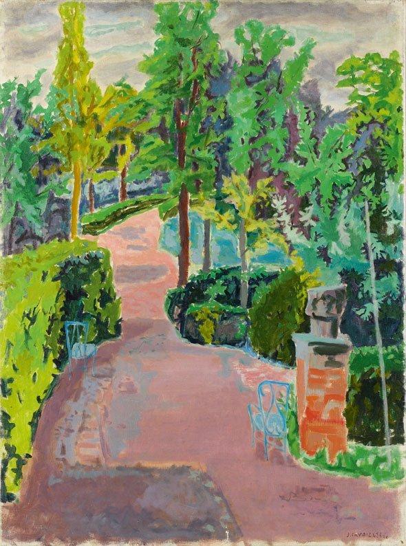 13: Jean Jules Louis CAVAILLES (1901-1977) * Le jardin,