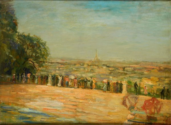 15: Constantin TERECHKOVITCH (1902-1978) * Paris, vue d