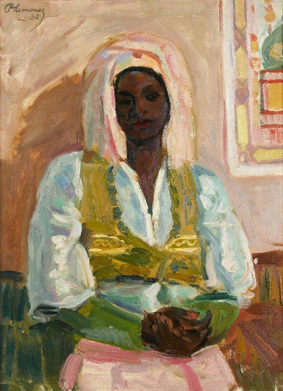 38: Roger Marcel LIMOUSE (1894-1990) * Femme marocaine