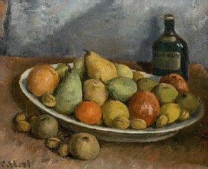 6: François-Maurice EBERL (1887-1962) Nature morte Huil