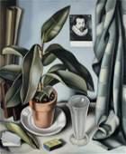 1158: Tamara de LEMPICKA (1898-1980) Plante grasse et f