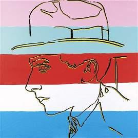 1174: Andy WARHOL (1928-1987) Portrait de Jean Cocteau