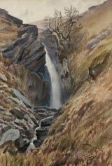 3: Edmond FONTAN (XIXE) Rivière de montagne, Cascade ve