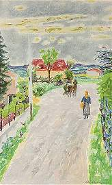 1: Jean Jules Louis CAVAILLES (1901-1977)* Ciel de prin