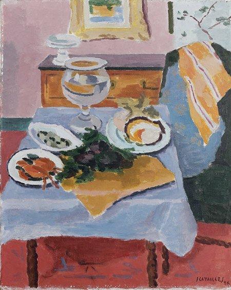 1bis: Jean Jules Louis CAVAILLES (1901-1977)* Le déjeun