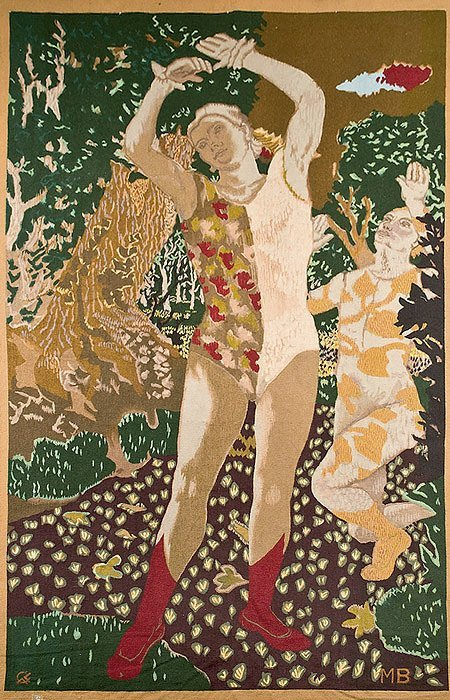 6: Maurice BRIANCHON (1899-1979)* Pierrot et Colombine