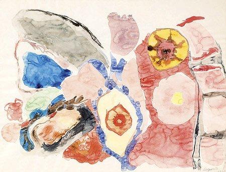 13: Raymond Jean LEGUEULT (1898-1971)* Composition Aqua