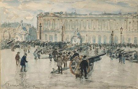 205A: Frank Meyers BOGGS (1855-1926) Place de la Concor