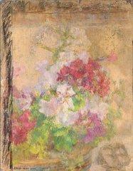 18: Ernest QUOST (1844-1931)  Fleurs  Ensemble de  past