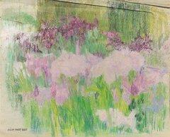 20: Ernest QUOST (1844-1931)  Etudes de fleurs  Ensembl