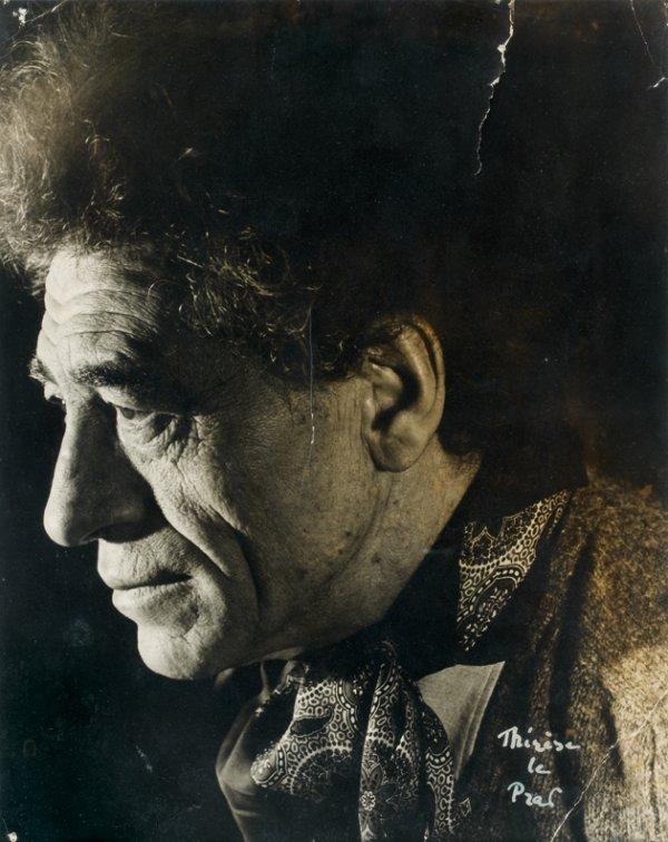 2: Thérèse LE PRAT (1895-1966)  Portrait d'Alberto GIAC