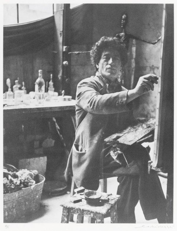 3: Ernst Scheidegger (Suisse - né en 1923) Alberto dans