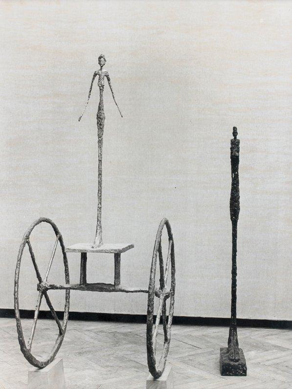 20: Bo Boustetd  L'orige en bronze, exposition Alberto