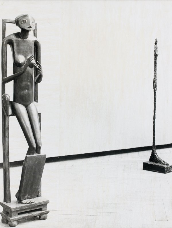 21: Bo Boustetd  Sculpture en bronze, exposition Albert
